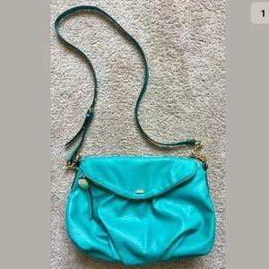 Juicy Couture Cross Body Handbag Teal/Turquoise